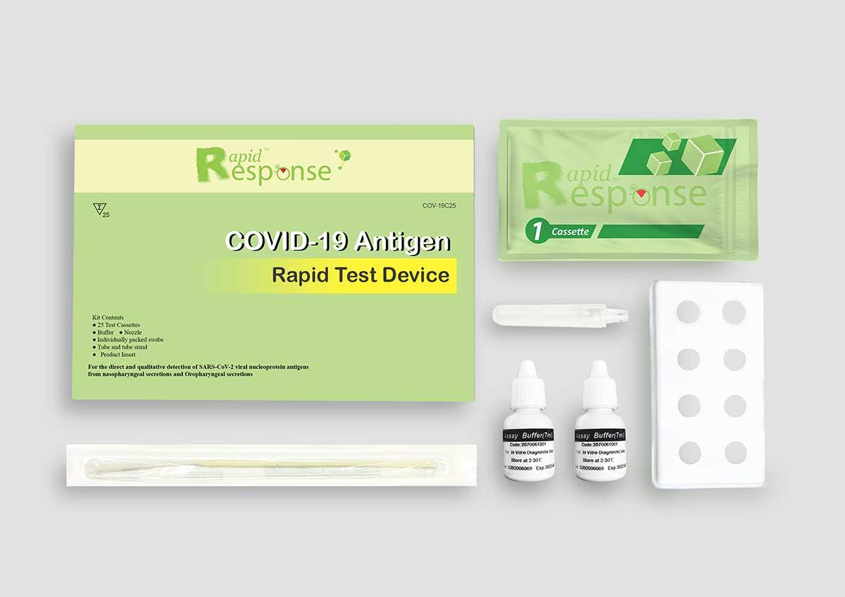 BTNX Rapid Response COVID-19 Antigen Rapid Test Device