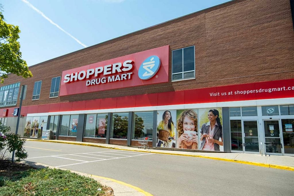 COVID Testing at Shoppers Drug Mart