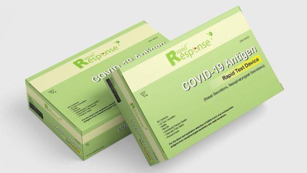 Rapid Response™ COVID-19 Antigen Test Device