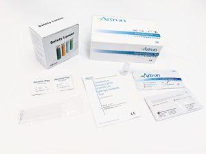 COVID-19 IgG/IgM Antibody Test Kit - Artron Laboratories