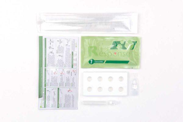 BTNX Rapid Response Antigen Test 5 pack items